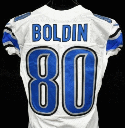Game Worn Boldin