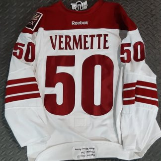 Antoine Vermette game worn playoffs