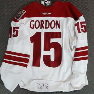 Boyd Gordon Playoff Worn