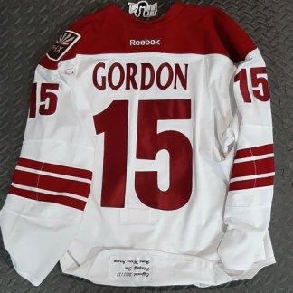 Boyd Gordon Playoff Worn