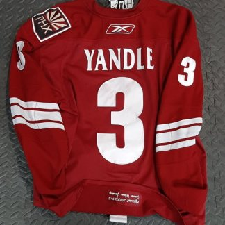Keith Yandle Game Worn jersey Set 2 Home Jersey