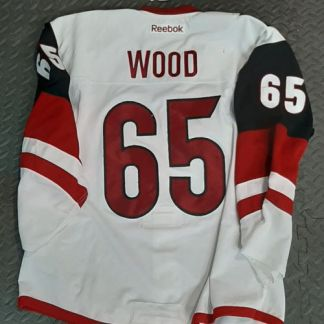 Wood Coyotes Game Worn Jersey 86