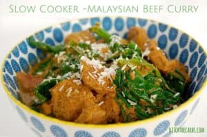 Slow Cooker Malaysian Beef Curry | ditchthecarbs.com