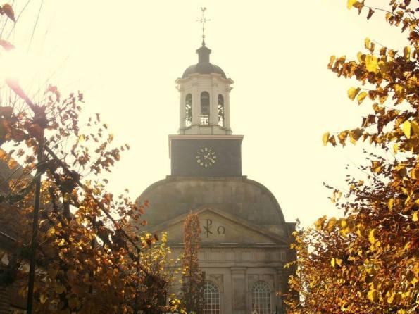 Een van de oude kerken in het pittoreske Ootmarsum