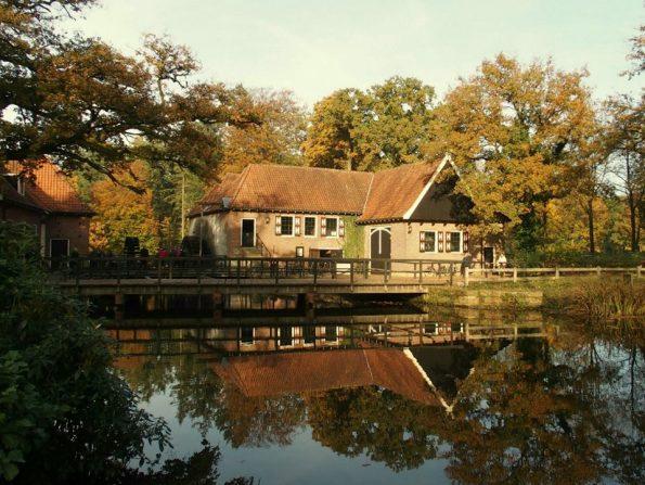 Het Restaurant De Watermolen op landgoed Singraven.