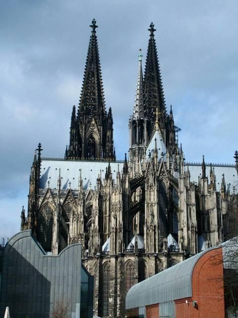 De enorme Dom van Keulen is de grootste kerk van Duitsland