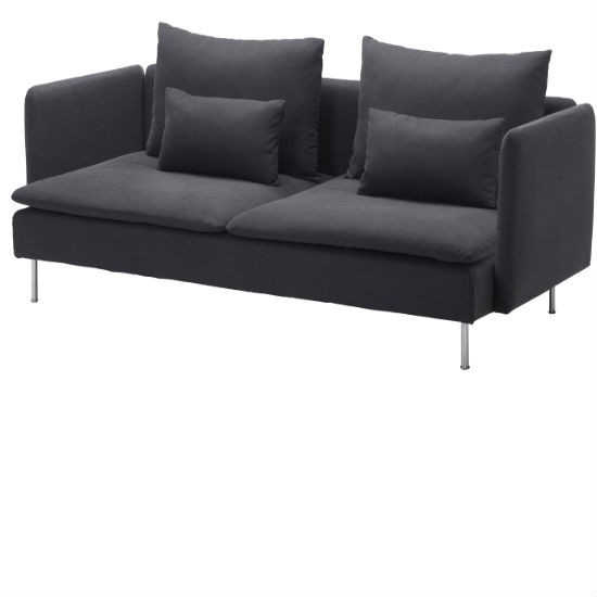 grey-sofabed-from-Ikea