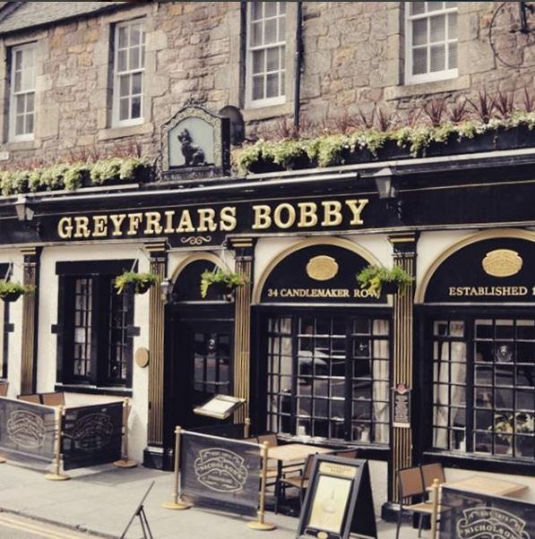 De Greyfriars pub in Edinburgh.