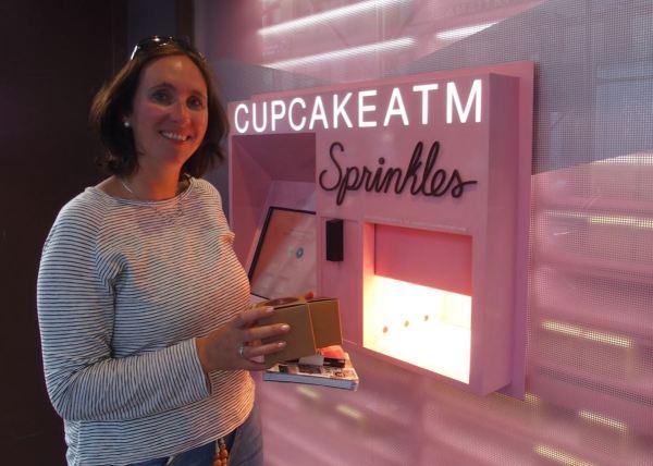 Cupcakes uit de muur!