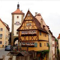 Rothenburg ob der Tauber: Sprookjesstad in Beieren!