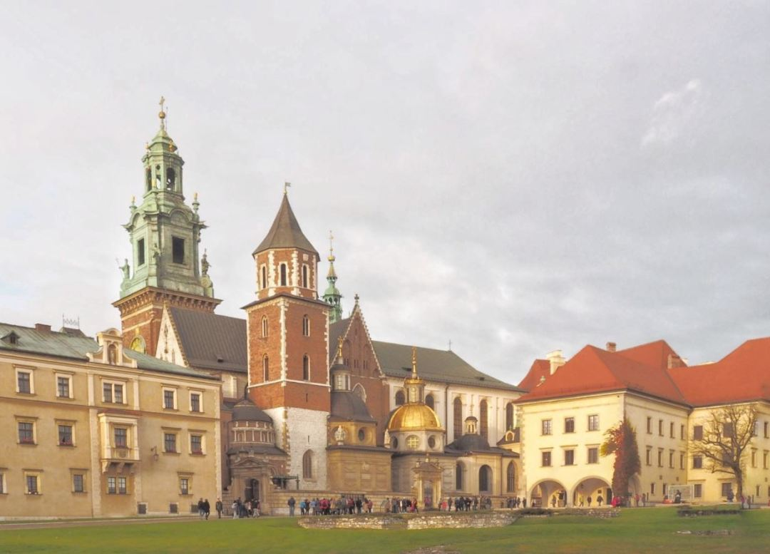 Krakau Wawel 2017