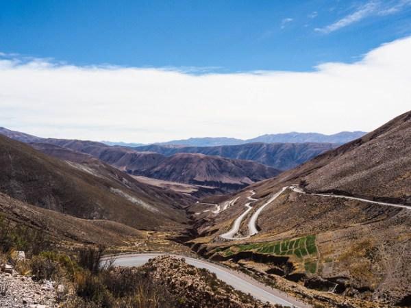 Bergpas Ruta 52 Argentinië