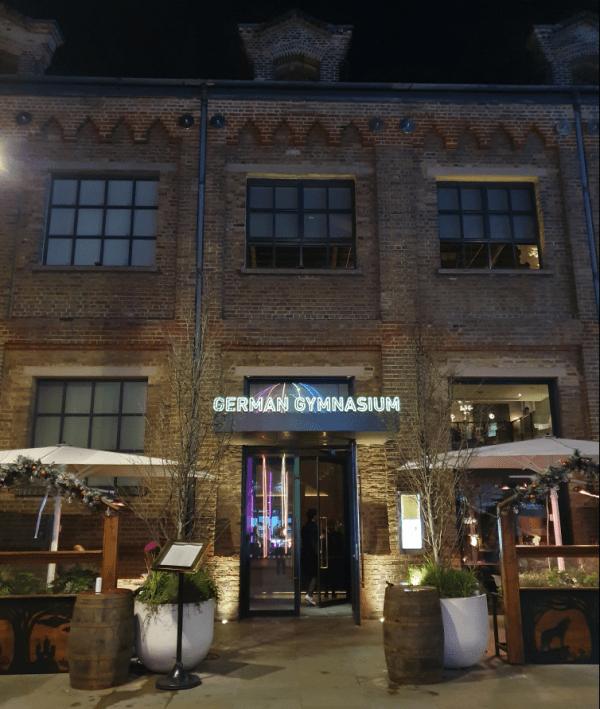 German Gymnasium Hotspots in Londen