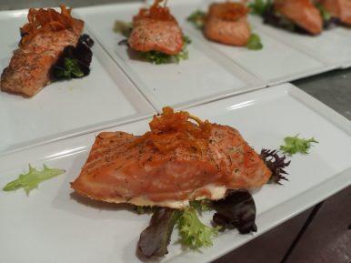 Salmon for private event