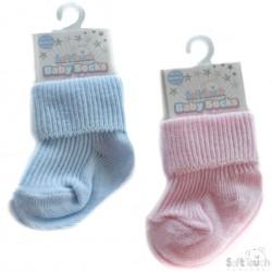 Sokje new born blauw_roze