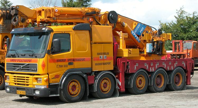 Imagem de um camião Volvo