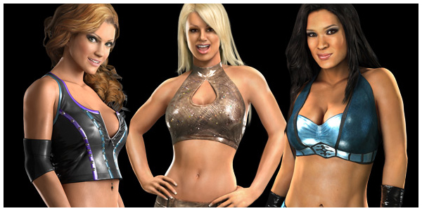 In Pictures Smackdown Vs Raw 2011 Character Models Revealed Diva Dirt