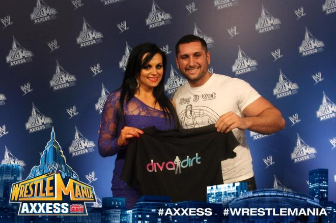 Aksana and I showing Diva Dirt some love.