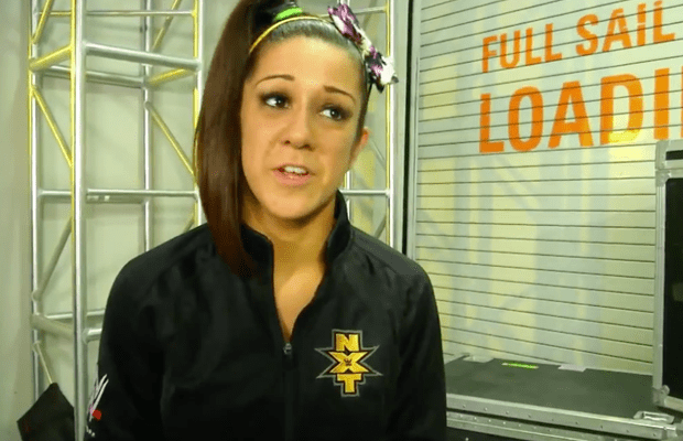 Video: Bayley Reacts to Becky Lynch's Actions on NXT