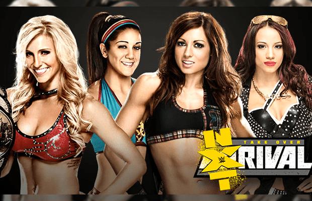 Image result for Sasha vs Bayley vs Charlotte vs Becky