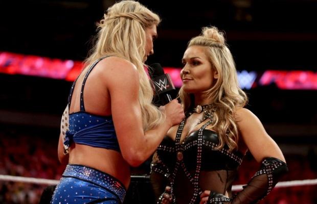 Raw After WrestleMania - Charlotte Natalya
