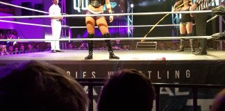 Tessa Blanchard wrestles in Adelaide, Australia for World Series Wrestling