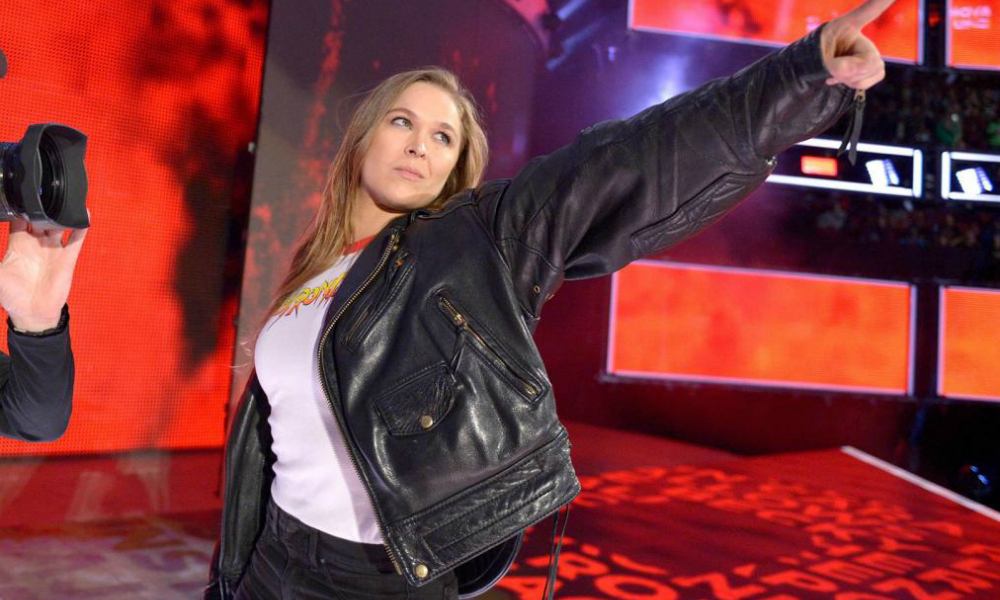 Ronda Rousey reveals she is having a baby girl