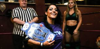 British Empire Wrestling Women's Champion KC Spinelli