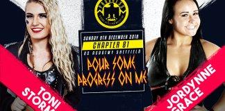 Toni Storm vs Jordynne Grace