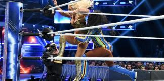 mandy rose and naomi square off in smackdown battle royal