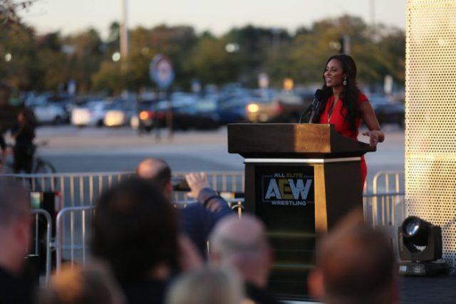 AEW Chief Brand Officer Brandi Rhodes