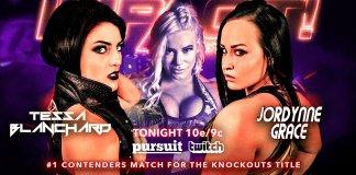 Jordynne Grace Taya Valkyrie Tessa Blanchard Impact Knockouts Championship