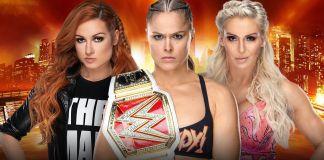 WrestleMania Ronda Rousey Becky Lynch Charlotte Flair