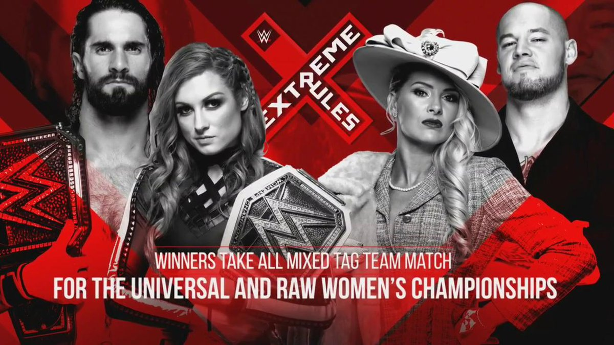 Mixed Tag Team Match: Winners Take All for Extreme Rules