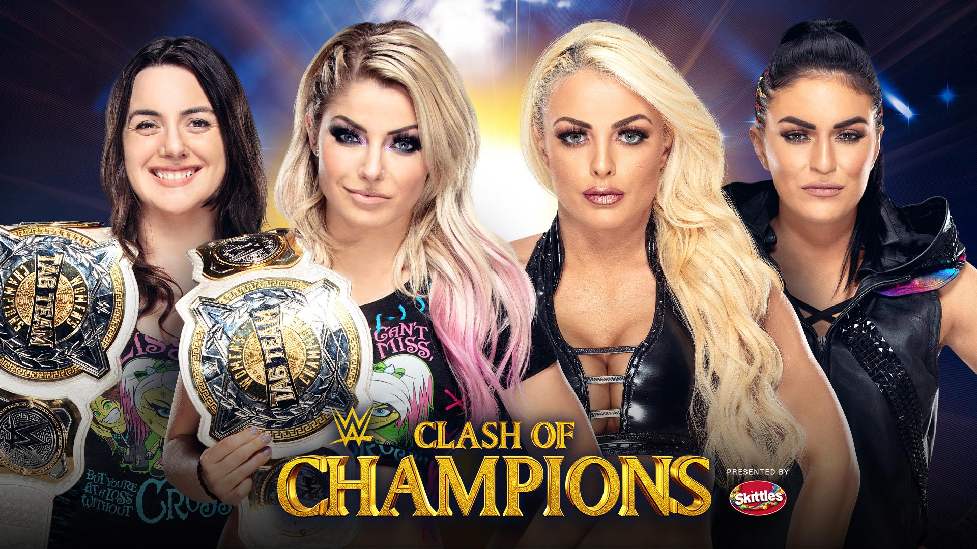 Women's Tag Team Championship will be defended at Clash of Champions