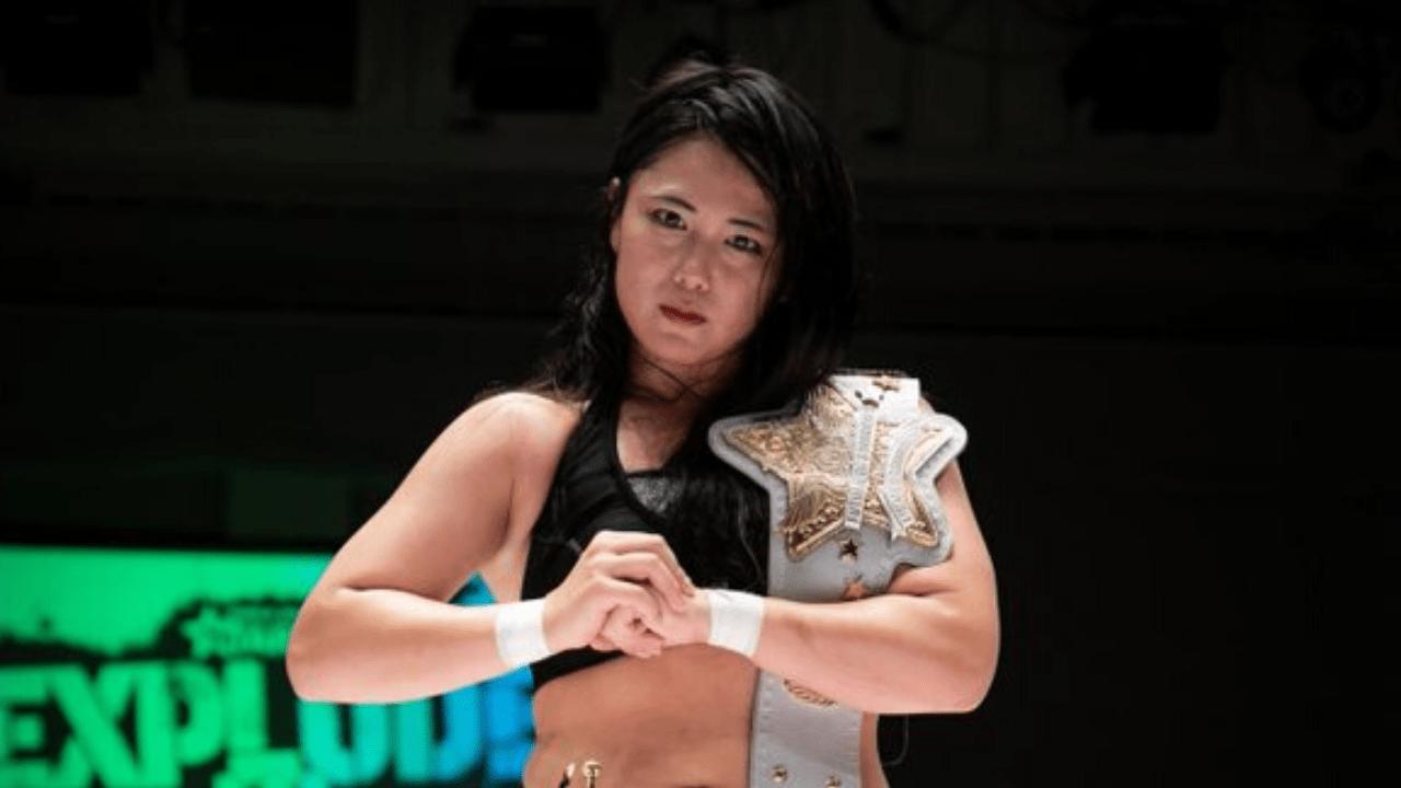Maika becomes the new Future of STARDOM Champion - Diva Dirt  3 Puroresu and 3 Joshi Top