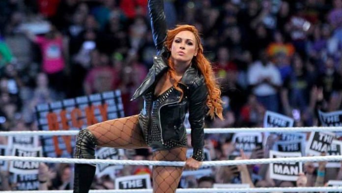 Becky Lynch reveals she is at the Money in the Bank venue