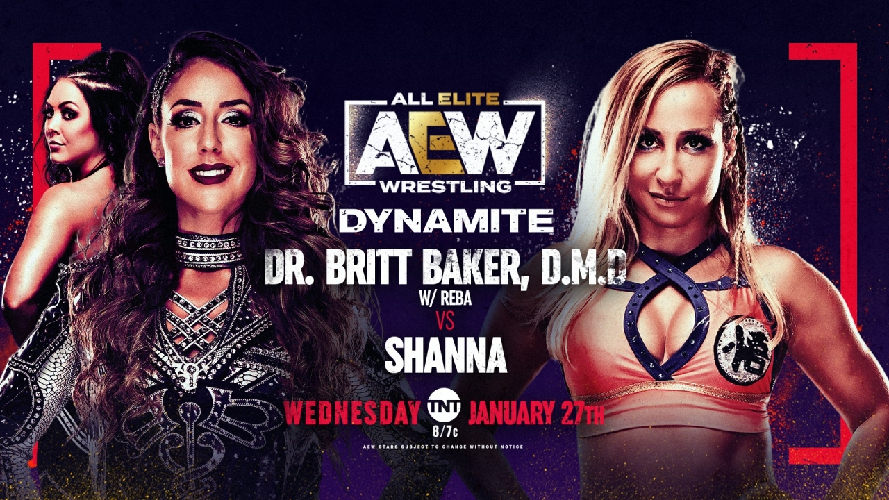 Britt Baker vs Shanna