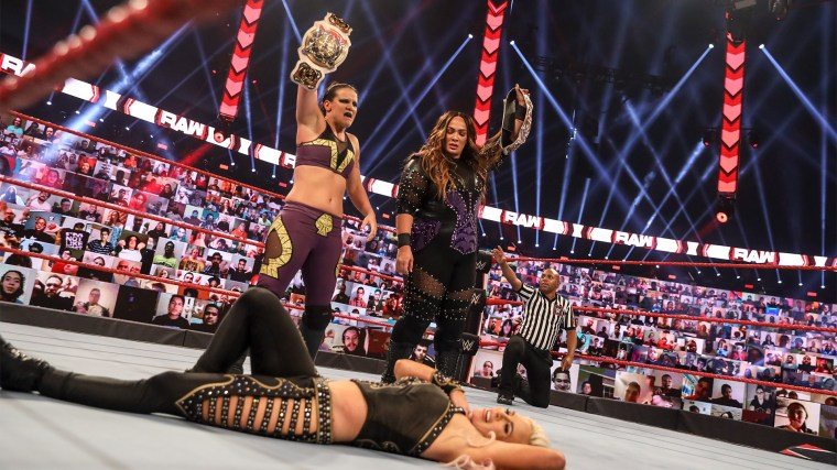 Reported plans for the WWE Women's Tag Team Titles at WrestleMania