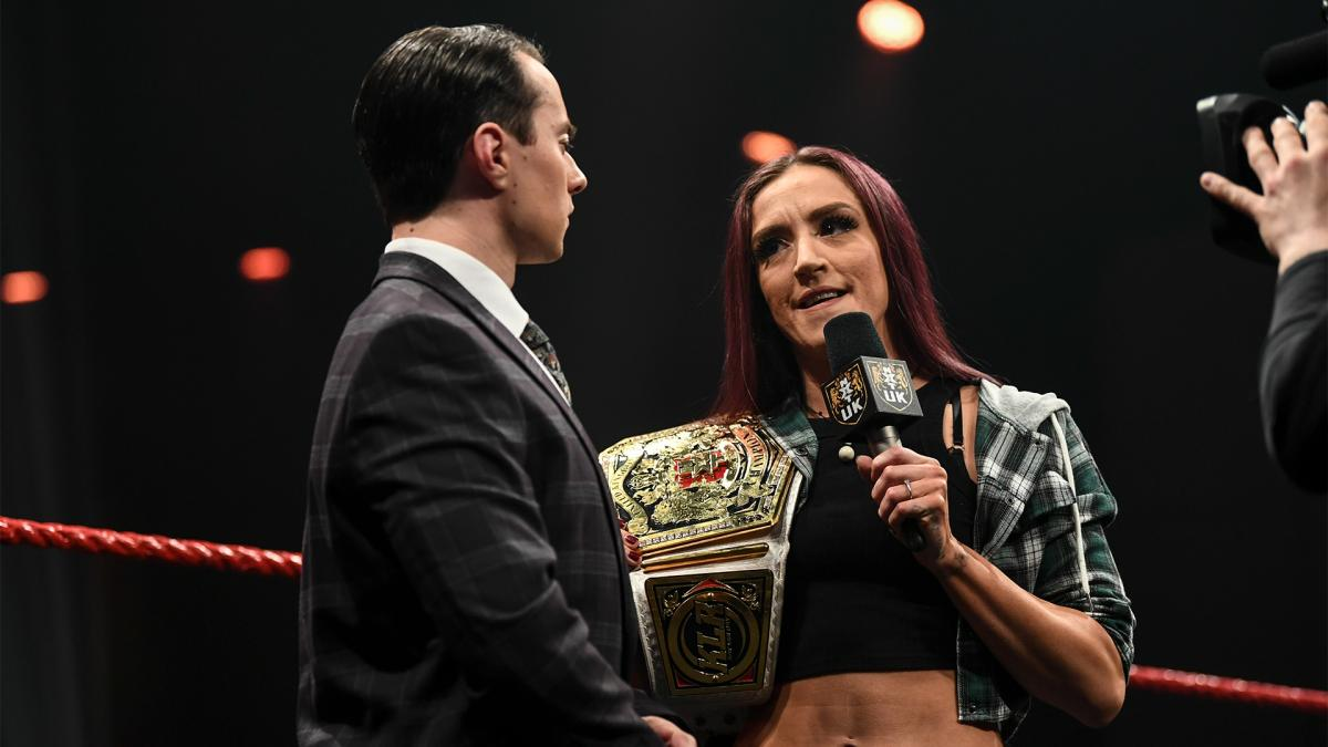 Gauntlet match on the horizon to name a number one contender for the NXT UK Women's Title