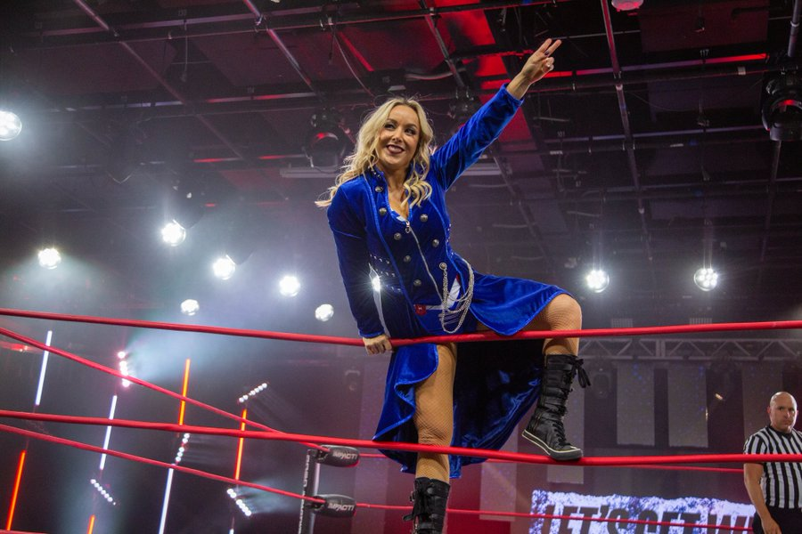 Taylor Wilde wins her first match after coming out of retirement