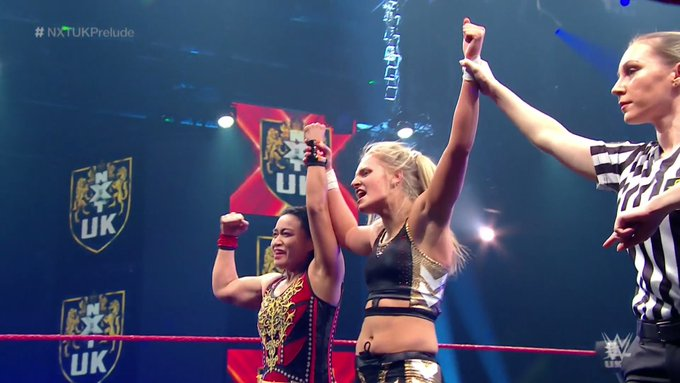 Emilia McKenzie makes the most of her debut with a victory on NXT UK
