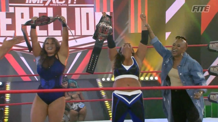 New Knockouts Tag Team Champions crowned at Rebellion; Taylor Wilde makes her long-awaited return