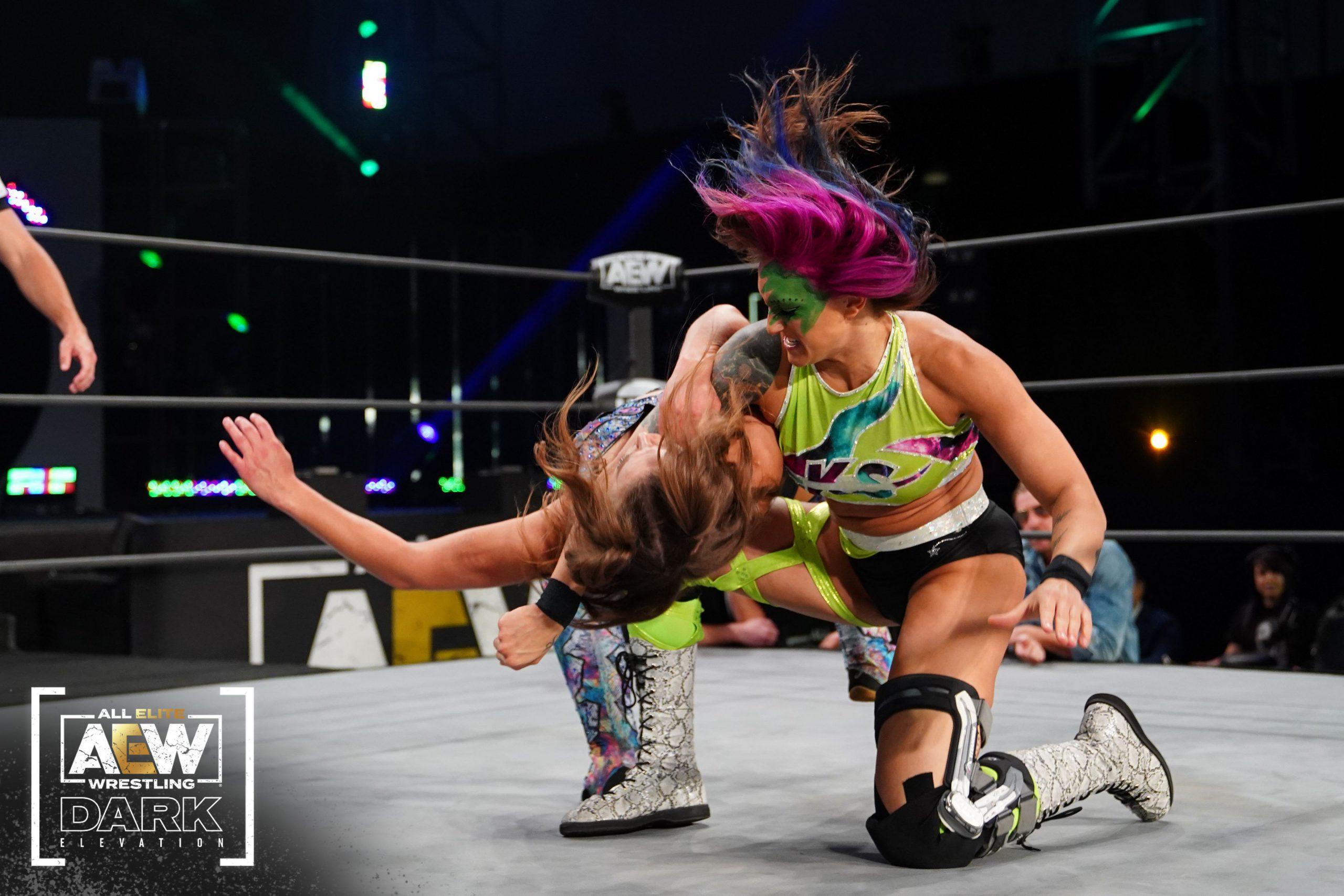 Statlander picks up a win on Elevation; Renee Michelle returns to Dark this week