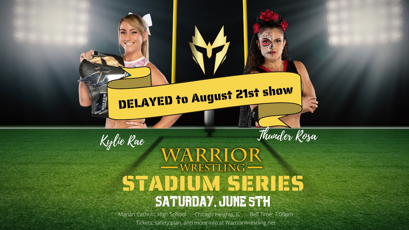 Kylie Rae will receive a new opponent for her in-ring return to Warrior Wrestling