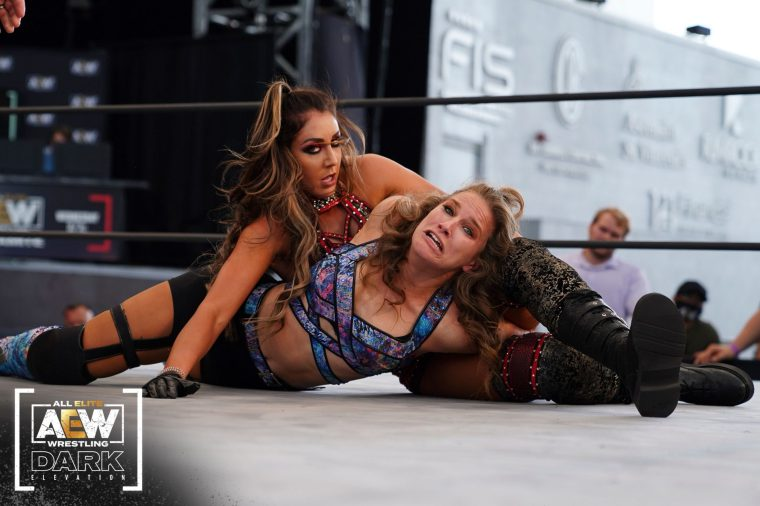 Britt Baker continues her rise through rankings with another win on AEW Dark: Elevation