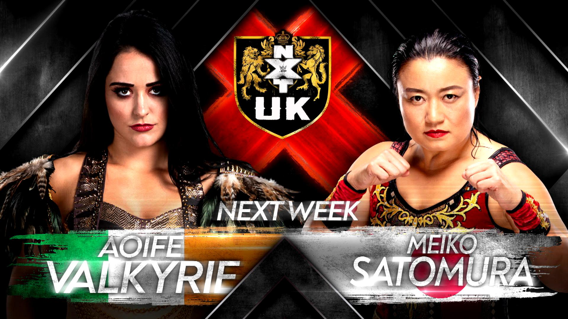 Aoife Valkyrie set to take on the final boss Meiko Satomura on next week's NXT UK