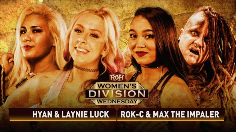 ROH women's division kicks off with a tag team match that pushes the limits