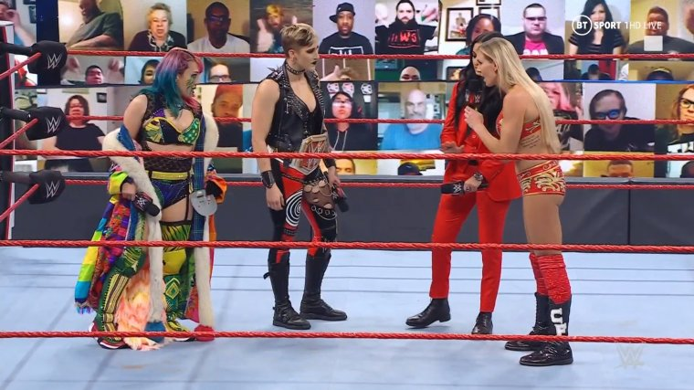 Triple Threat made official for the RAW Women's Title at WrestleMania Backlash