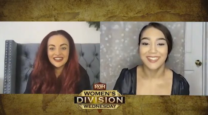 Rok-C has become the first entrant in the upcoming ROH Women's Tournament